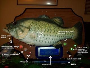 Big Mouth Bass Gag Gift