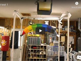 Parafoil Drone Concept Test