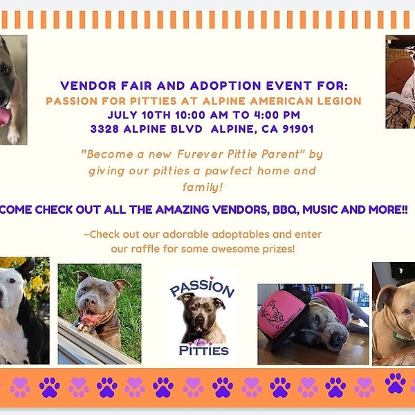 July Adoption Event Flyer (updated)