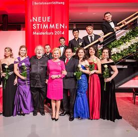 """""""10th Neue Stimme Concert"""" Hannover 2014 Aurora Faggioli Mezzosoprano"""