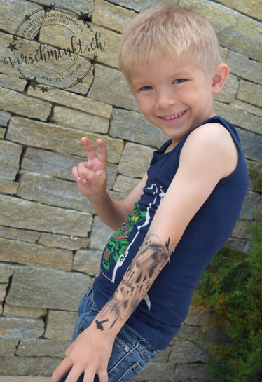 Airbrush Tattoo Kinder