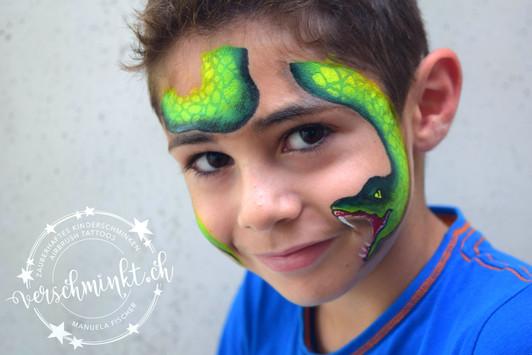 Giftschlange grün
