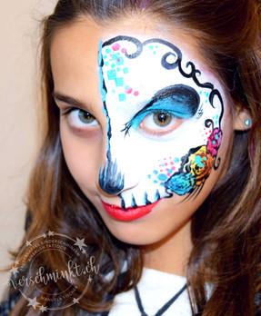 Half Skull Girl