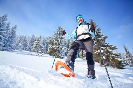 Snowshoeing around Tromsø