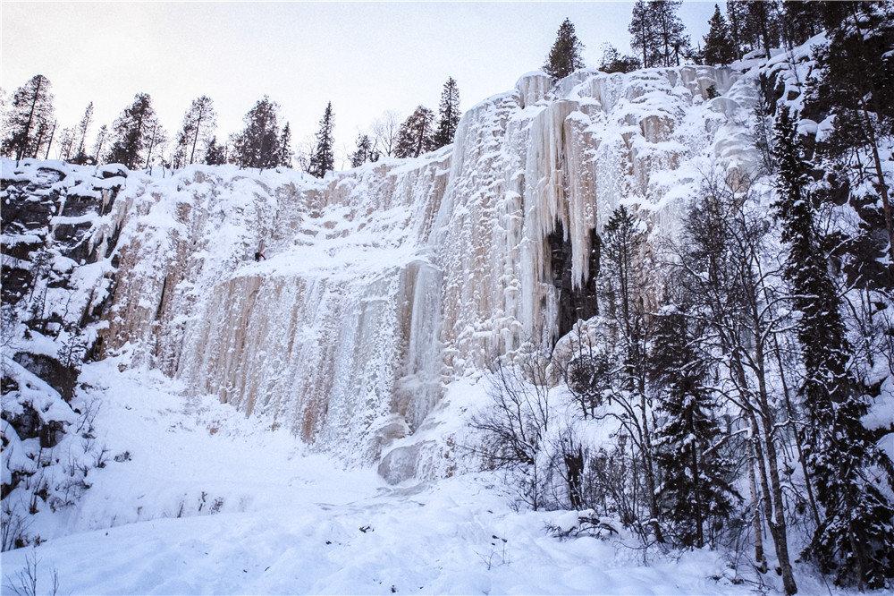 Korouoma National Park & Frozen Waterfalls