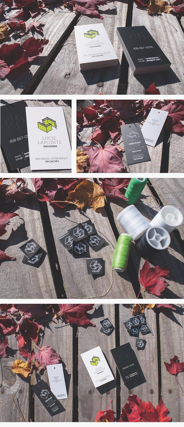 carte d'affaires, papeterie, slogan, étiquette, embossage, designer