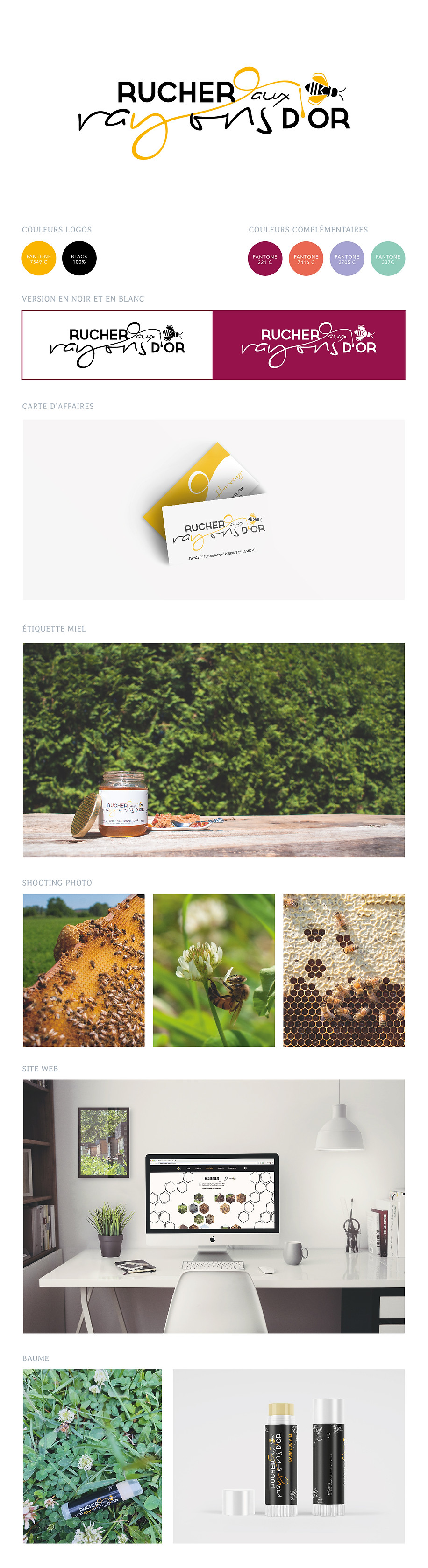 Pomme F | Rucher aux rayons d'or | miel | abeille | baume | ruches