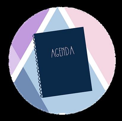 Pomme F | Agenda Organisateur | Planification | Agenda Pomme F | Bullet Journal