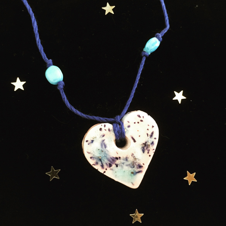 Aqua Magic Heart