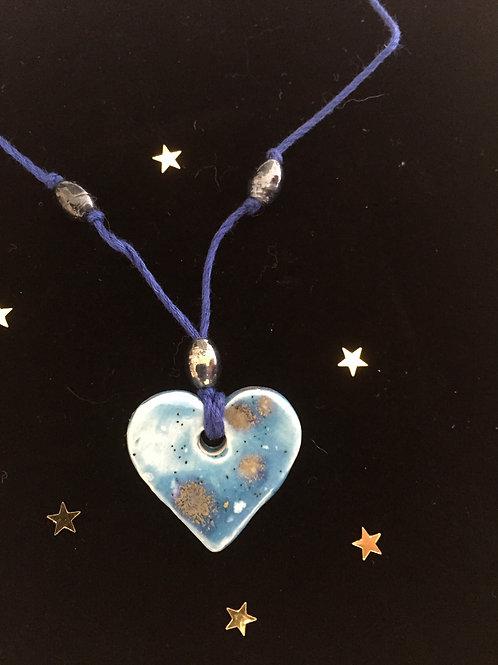 Sky blue Magic Heart