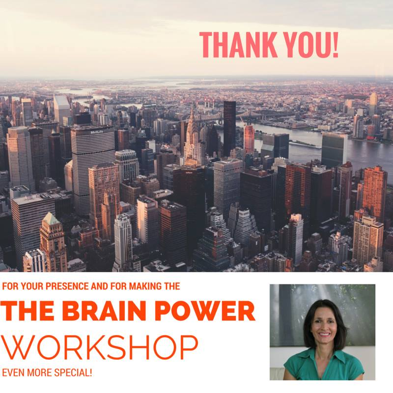 Brain Power Workshop in NYC