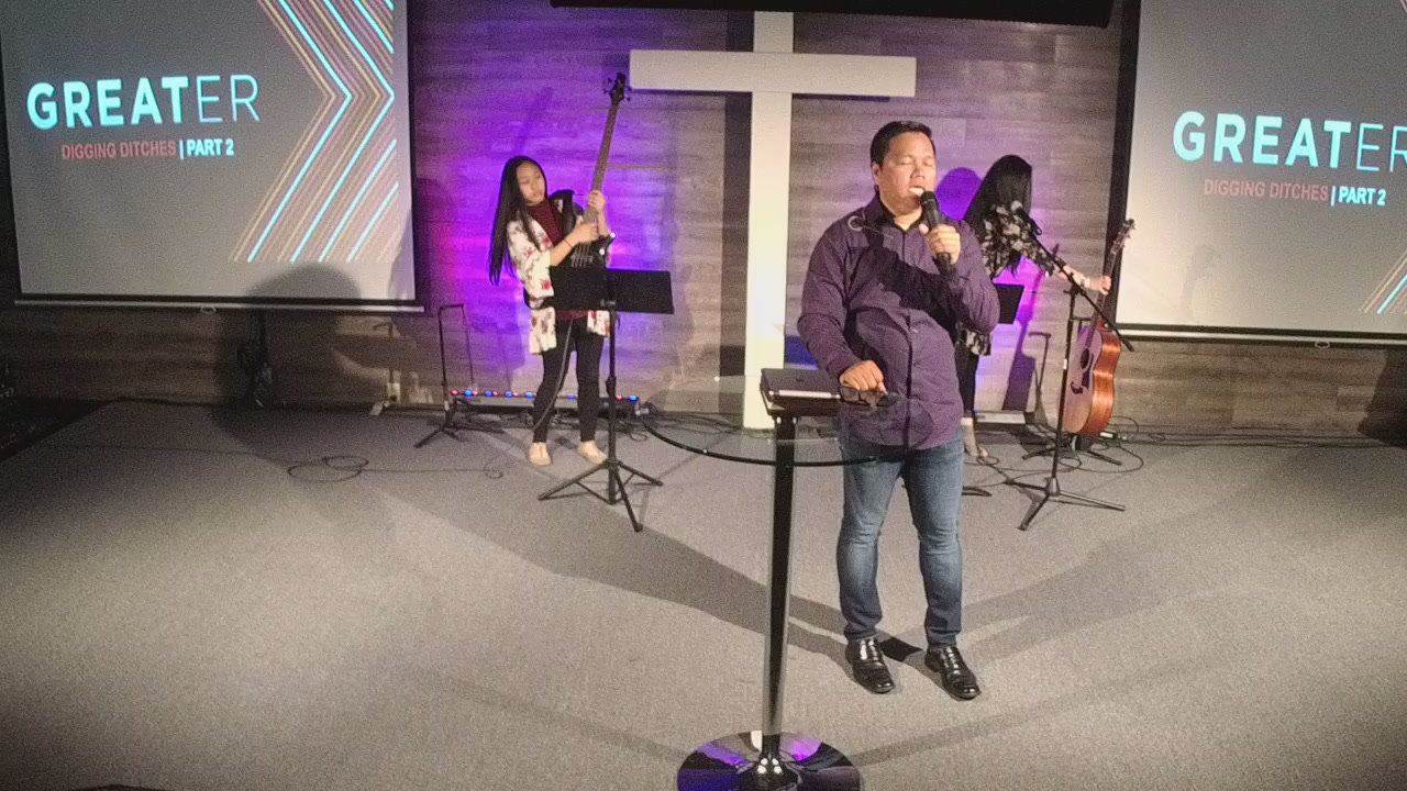 9:30am | Tagalog Service | Pastor Luis Solero | Greater Pt. 2