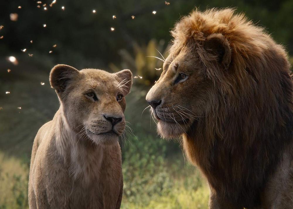 O filme o rei leão utilizou-se da tecnologia da Realidade Virtual para ser produzido.