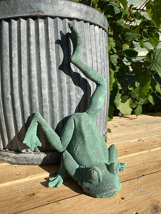 Quirky Cast Iron Frog