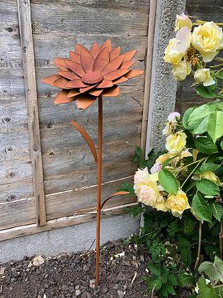 Bronze Metal Art Garden Flower