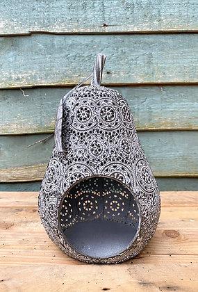 Moroccan Pear Candle Lantern