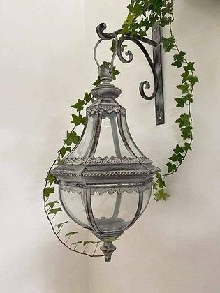 Grey Regency Bracket Lantern