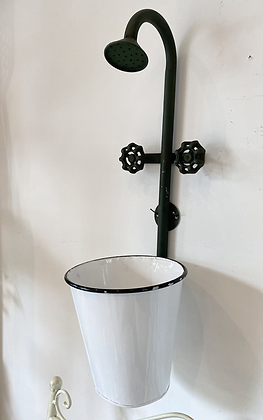 Shower tap wall hanging planter