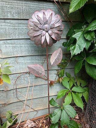 Tin Art Garden Flower