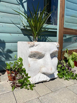Chongus Rustic Head Planter