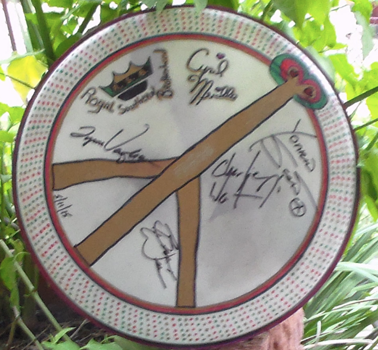 Cyril Neville and RSB signed drumhead.png