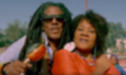 Lolo and Manze closer-up Kanaval video 2