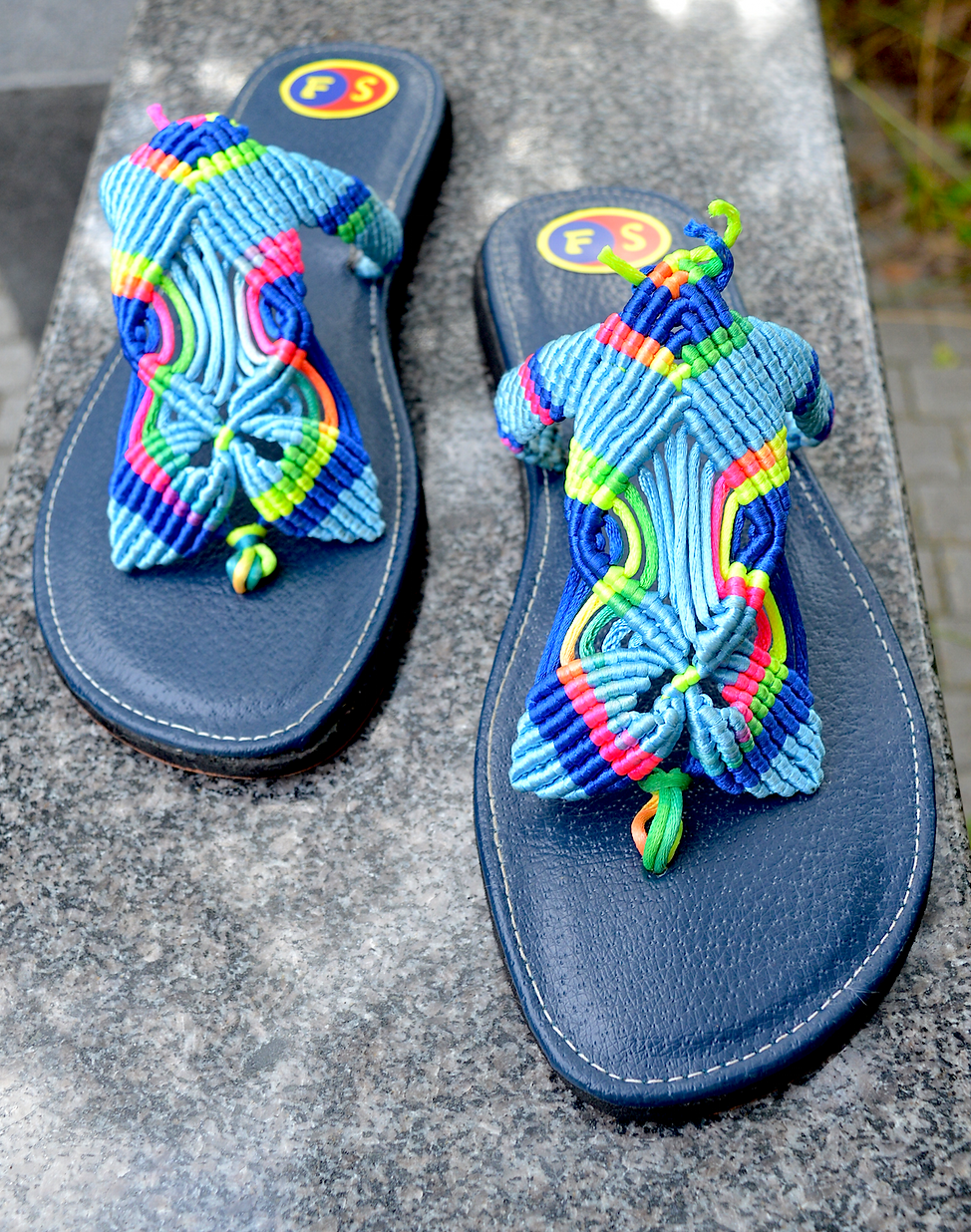 Aug 7 2019 Freedom Sandals--Rainbow iden