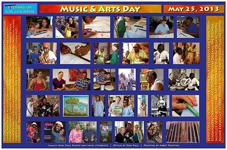 1 May 25, 2013 Music & Arts Day keepsake