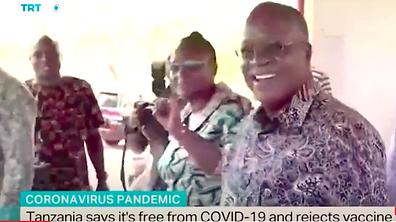 Tanzania rejects vaccine Feb 9 TRT chann