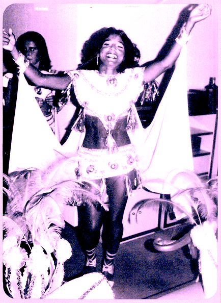 •1985, Hortencia at Carnival in Bahia, B
