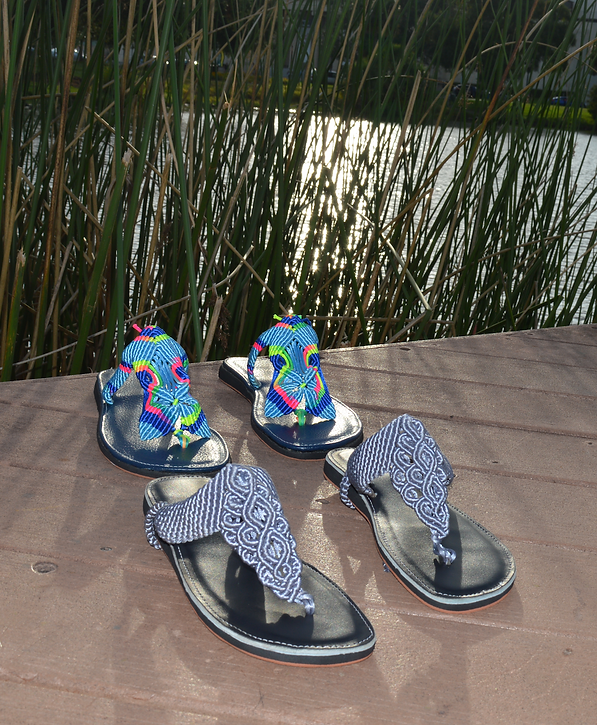 Freedom Sandals, two models under brilli