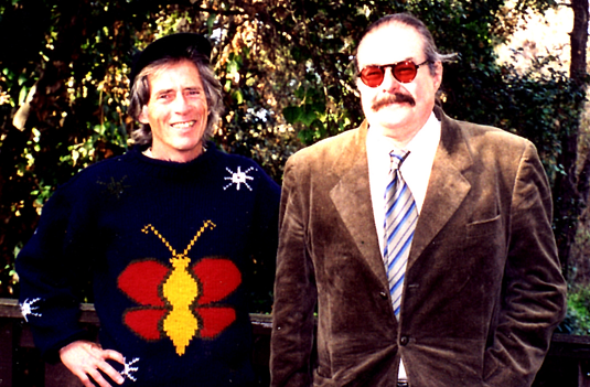 Don Paul and Chuck Kinder at Stanford, J