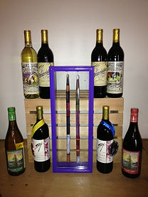 Frey Vineyards' 2014 wines surrounding F