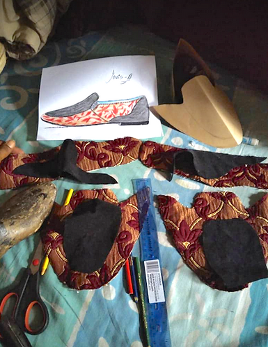 Louis O, tools and shoes-in-progress.png