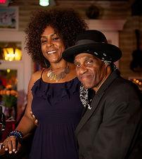 Gaynielle and Cyril Neville in Casa Borr