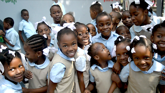Happy children at EFE overflowing.png
