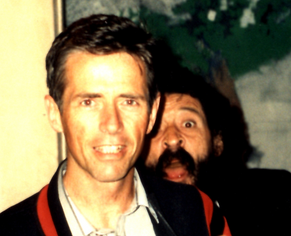 q.r. and Don, June 1991, before the Grea