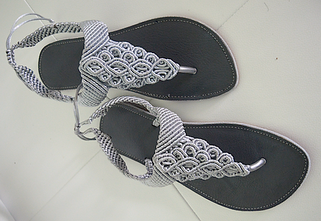 Freedom Sandals #7 black and silver.png