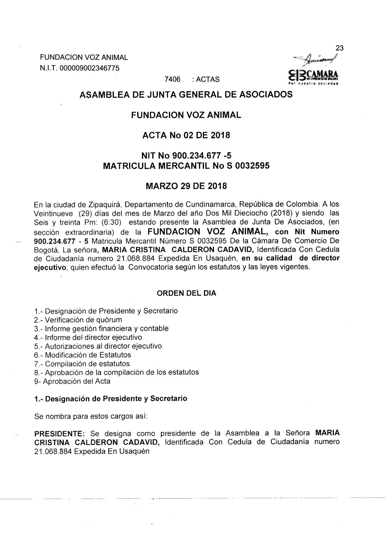 7. ACTA ASAMBLEA DE SOCIOS 2018 1