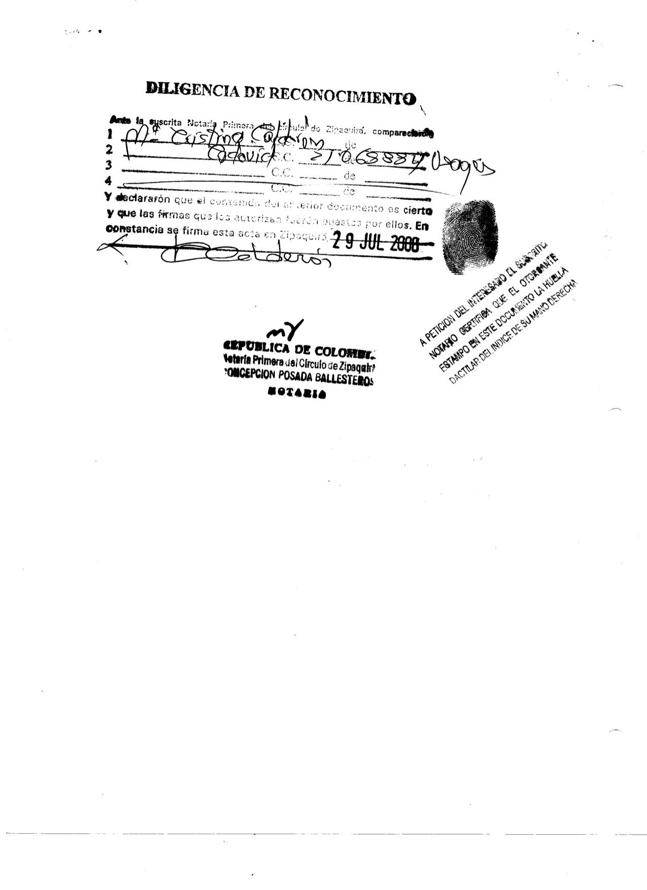 ACTA DE CONSTITUCION JUNTA DE ASOCIADOS N. 001-2 5