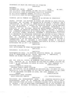 Certificado Existencia y R.L 2