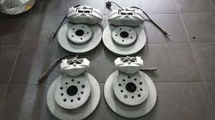Пескоструйная обработка тормозных дисков