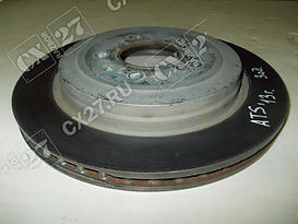 Замена задних дисков Cadillac