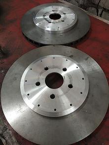 Изготовление тормозных дисков land cruis