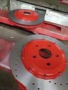 Изготовление роторов тормозных дисков на заказ, изготовление тормозных роторов составных тормозных дисков