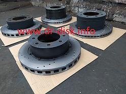 Составные тормозные диски на заказ
