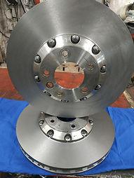изготовление тормозных дисков porsche turbo s