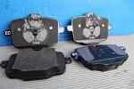 Замена задних тормозных колодок BMW 3 Спб, замена передних колодок