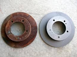 Пескоструйная очистка тормозных дисков С