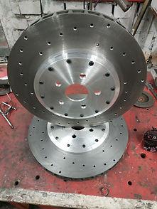 Изготовление тормозных дисков range rove
